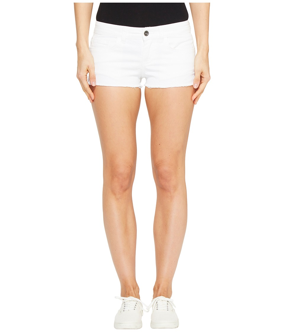 Vans - Destroy Mini II Short (White) Women's Shorts
