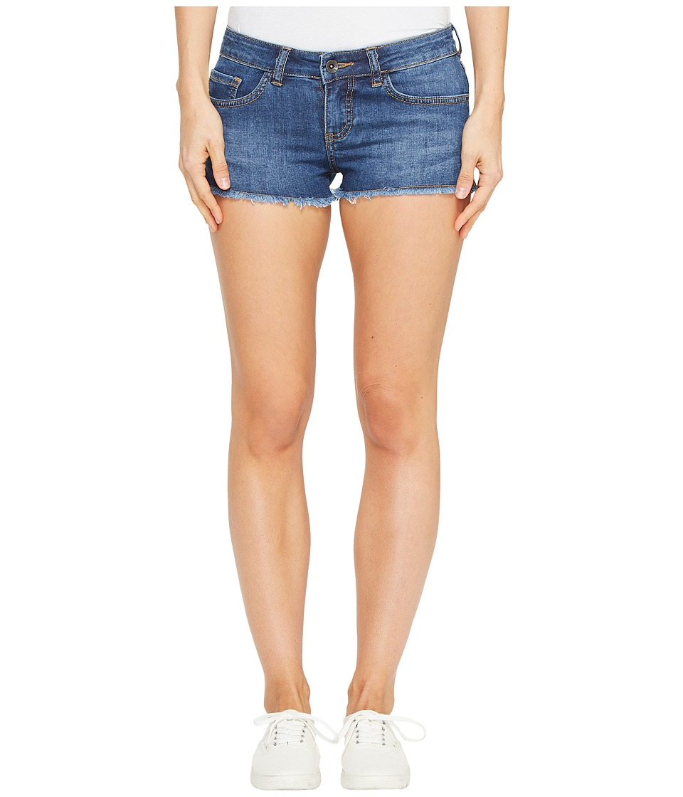 Vans - Destroy Mini II Short (Broken Blue) Women's Shorts