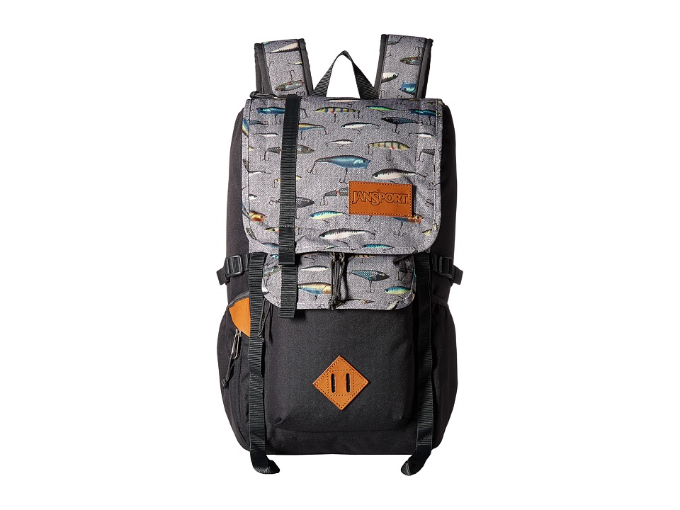 JanSport - Hatchet Backpack (Multi Fishing Lures) Backpack Bags