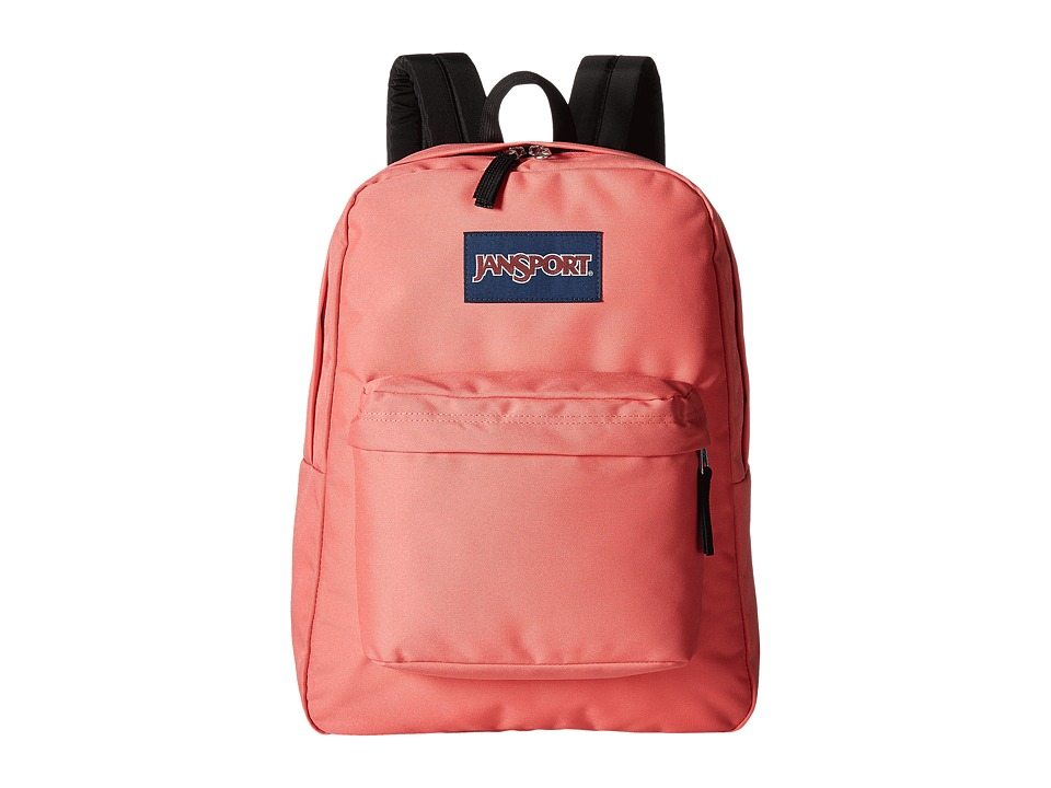 JanSport - SuperBreak(r) (Coral Sparkle) Backpack Bags