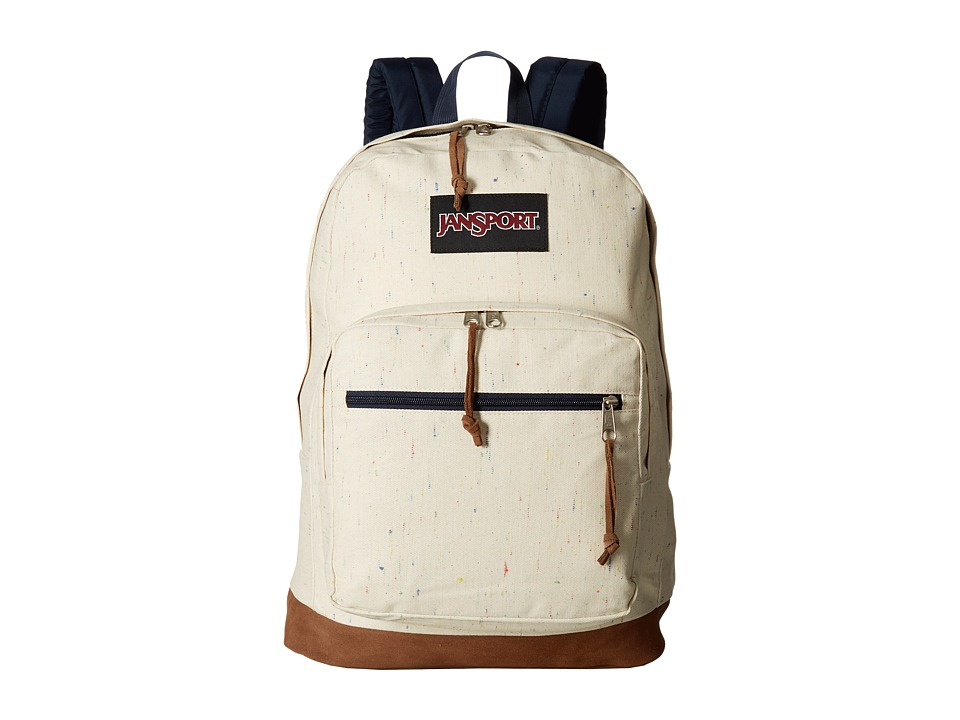 JanSport Right Pack Expressions (Natural Speckled Canvas) Backpack Bags