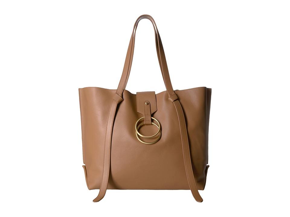 Badgley Mischka - Campaign Tote (Cognac) Tote Handbags