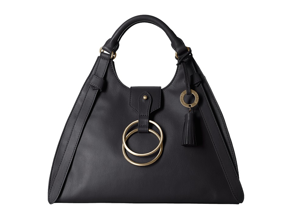 Badgley Mischka - Campaign Bugatti (Black) Handbags