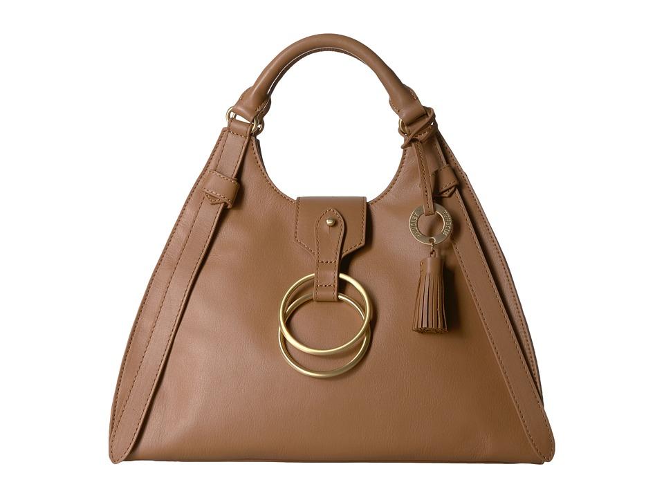 Badgley Mischka - Campaign Bugatti (Cognac) Handbags
