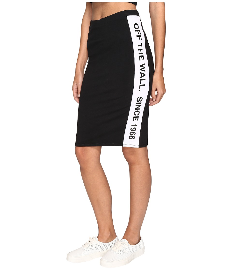Vans - Track Day Skirt (Black/White) Women's Skirt