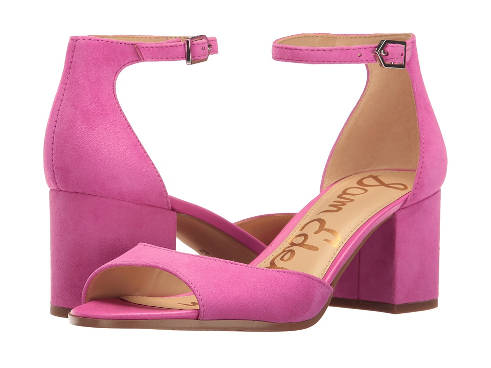 Sam Edelman - Susie (Hot Pink Kid Suede Leather) Women's Shoes