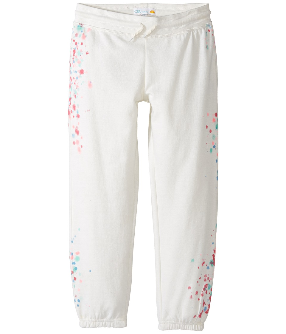C&C California Kids - Cropped Pants (Little Kids/Big Kids) (Snow White) Girl's Casual Pants