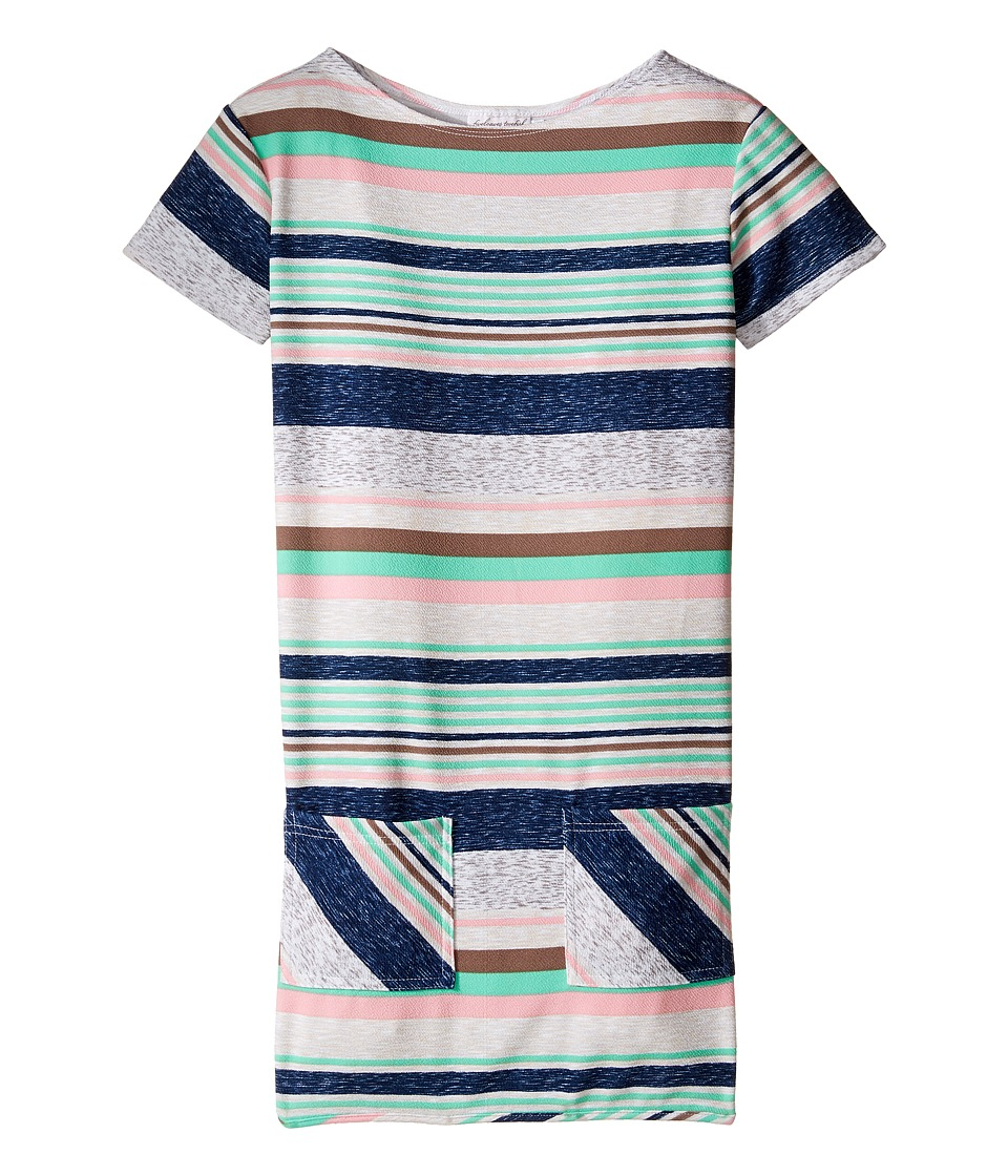 fiveloaves twofish - Lizzie Stripe Shift Dress (Little Kids/Big Kids) (Multi Stripe) Girl's Dress