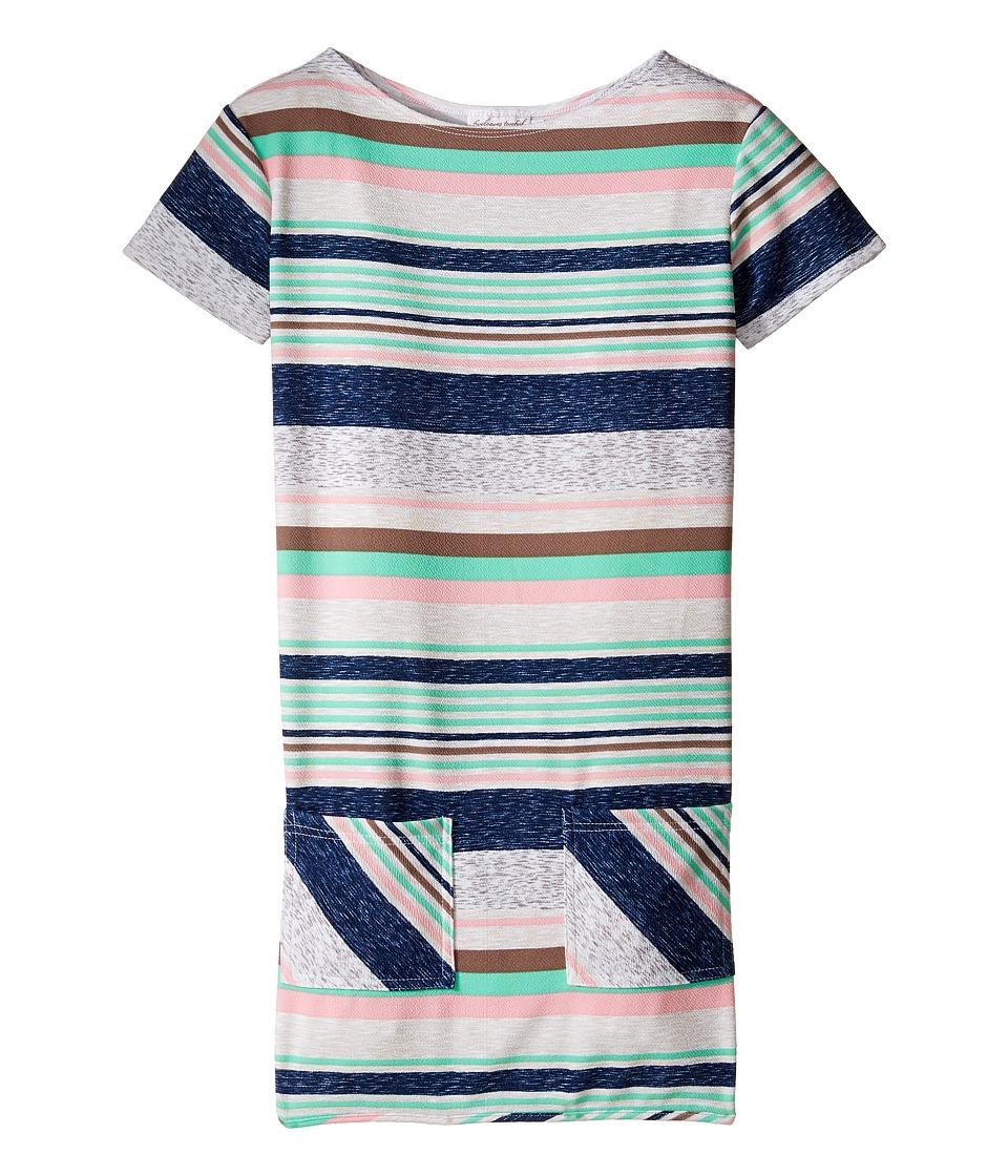 fiveloaves twofish - Lizzie Stripe Shift Dress (Little Kids/Big Kids) (Multi Stripe) Girl's Dress