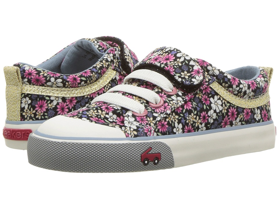 See Kai Run Kids Kristin (Toddler/Little Kid) (Multi Floral) Girls Shoes