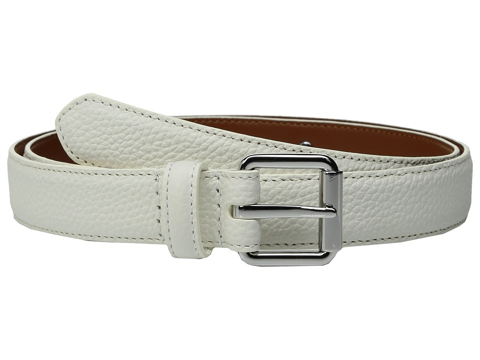 LAUREN Ralph Lauren - Classics Officers Plaque Belt (Eggshell) Women's Belts