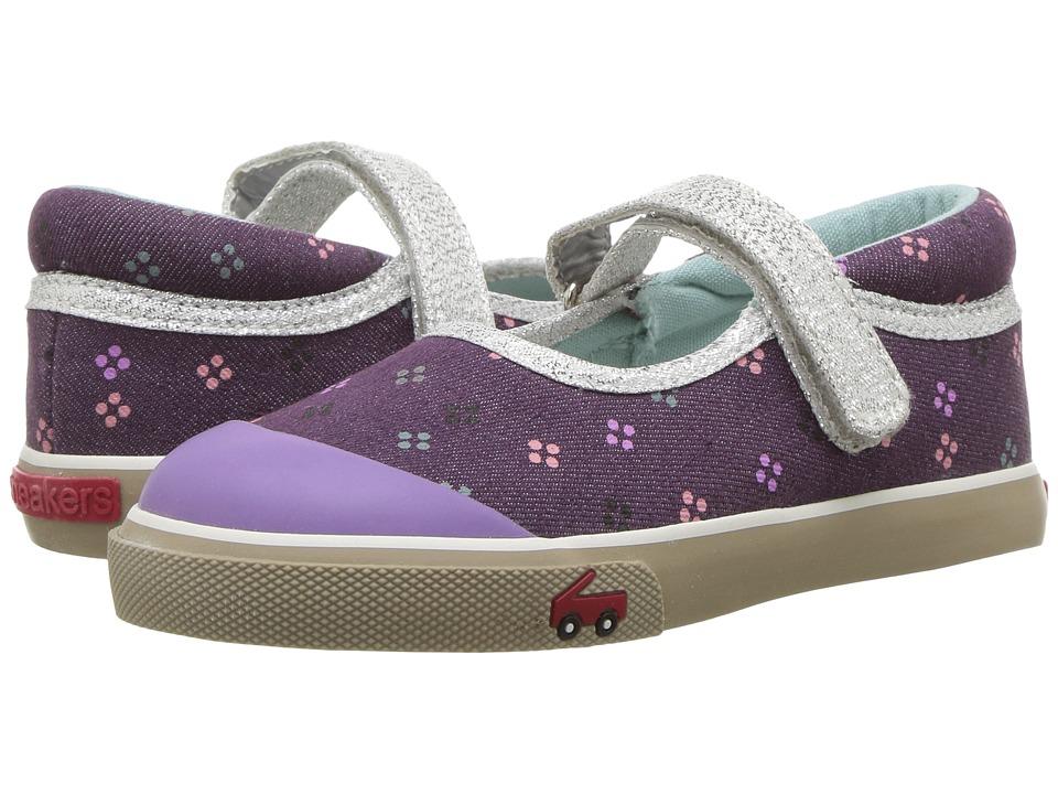 See Kai Run Kids Marie (Toddler) (Purple) Girls Shoes