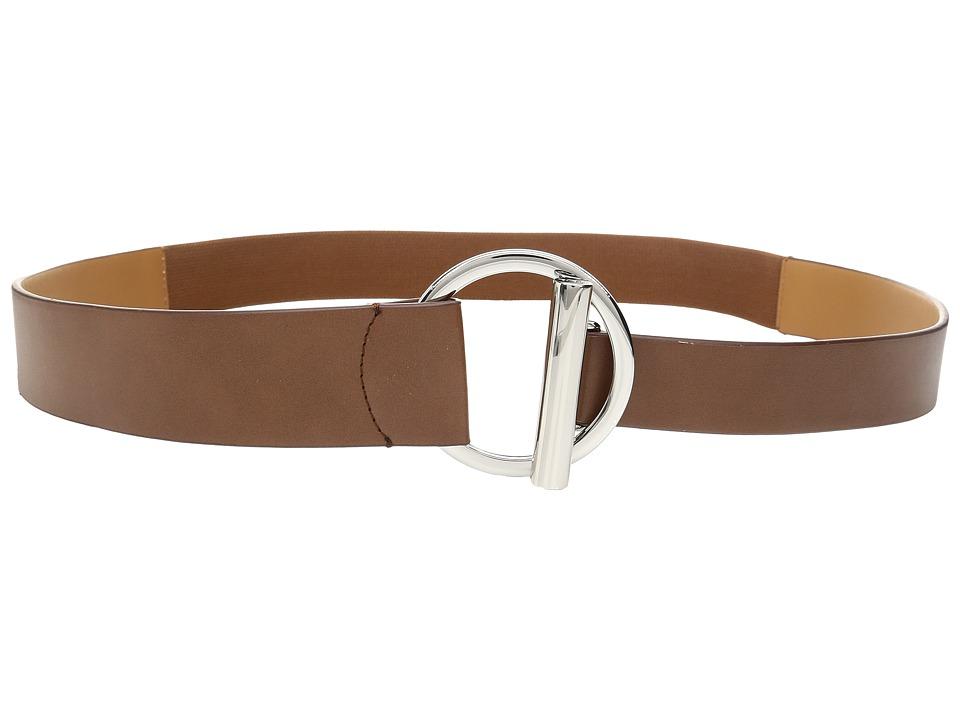 LAUREN Ralph Lauren - Stretch Modern Toggle Belt (Tan) Women's Belts