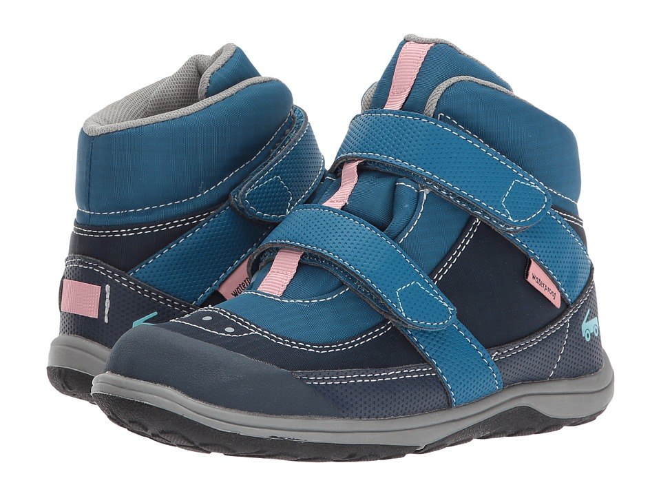 See Kai Run Kids Atlas WP (Toddler/Little Kid) (Dark Blue) Girl
