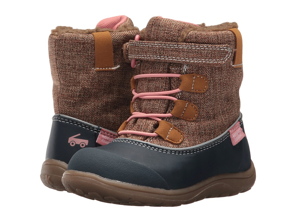 See Kai Run Kids Abby WP/IN (Toddler/Little Kid) (Brown) Girl