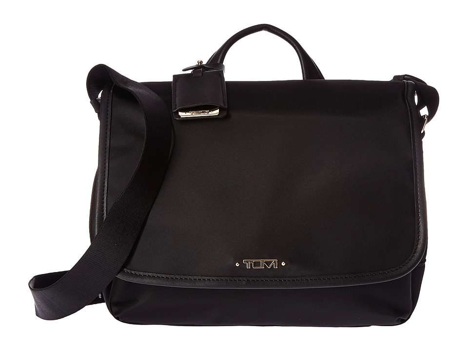 Tumi - Voyageur Small Lola Messenger (Black) Messenger Bags