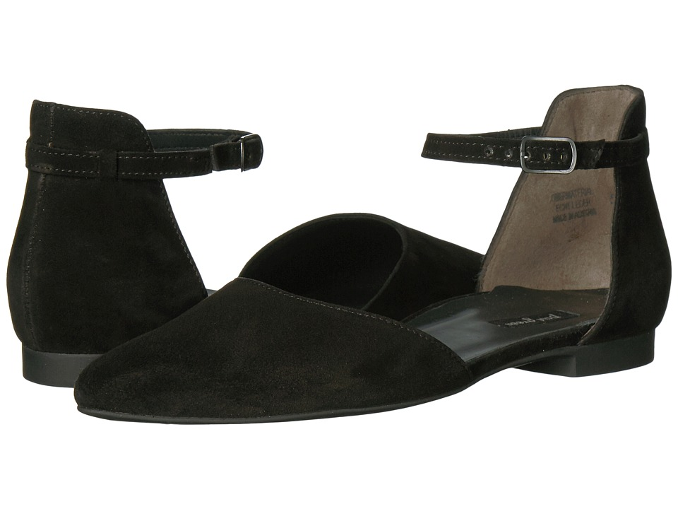 Paul Green Henly (Black Suede) Women