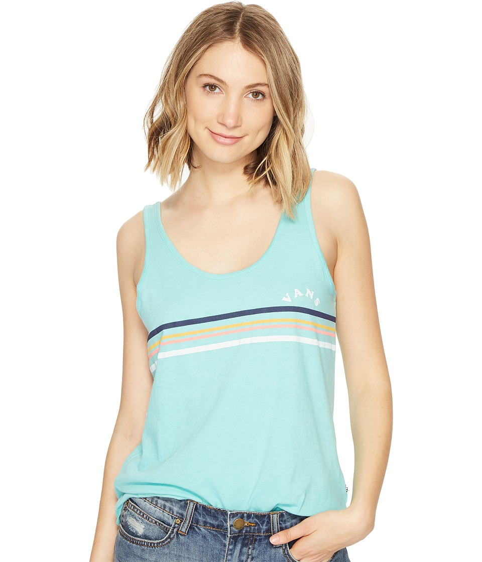 Vans - 1966 Stripe (Pool Blue) Women's T Shirt