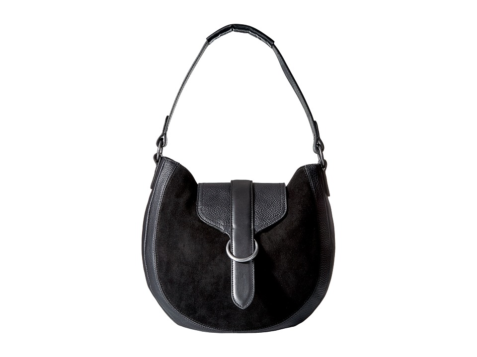 Lucky Brand - Brooke Hobo (Black) Hobo Handbags