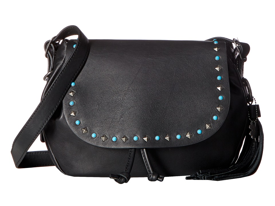 Lucky Brand - Zoe Shoulder Bag (Black) Shoulder Handbags