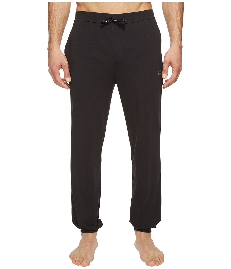 BOSS Hugo Boss - Mix and Match Long Pants CW Cuffs (Black) Men's Pajama