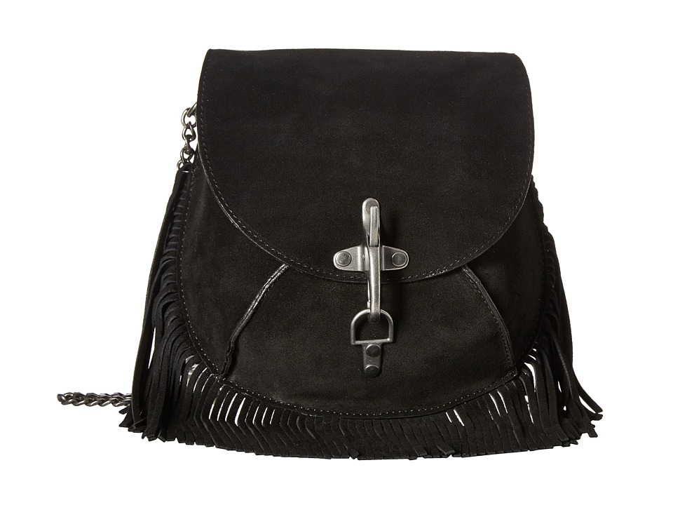 Lucky Brand - Small Crossbody (Black) Cross Body Handbags