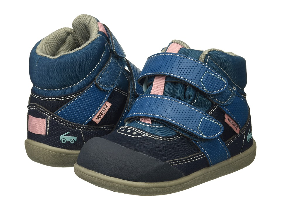 See Kai Run Kids Atlas WP (Toddler) (Dark Blue) Girl
