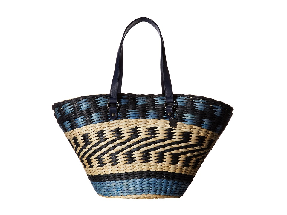 Lucky Brand - Isabel Bucket (Moroccan Blue) Cross Body Handbags