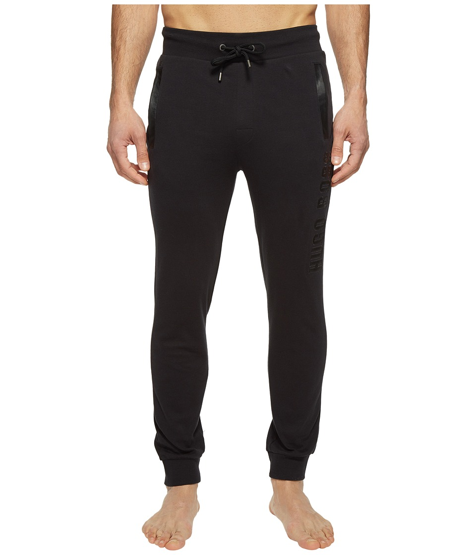 BOSS Hugo Boss - Contemporary Long Pants Cuffs 1017 (Black) Men's Pajama