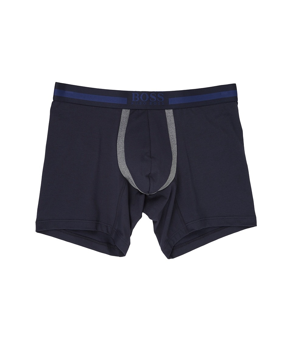 BOSS Hugo Boss - Cotton+ Boxer Brief (Blue) Men's Underwear