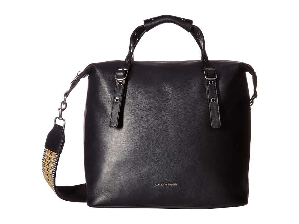 Lucky Brand - Caro Satchel (Black) Satchel Handbags