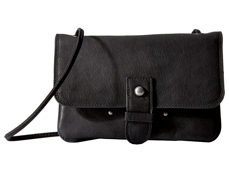 Lucky Brand - Convertible Wallet (Black) Wallet Handbags