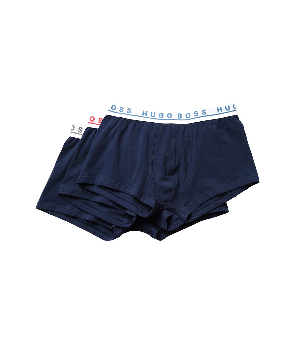 BOSS Hugo Boss - Trunk 3-Pack CO/EL 10146 (Navy) Men's Underwear