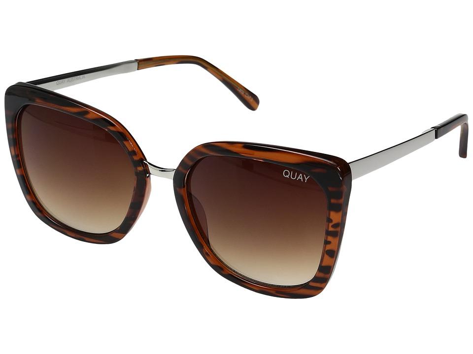QUAY AUSTRALIA - Capricorn (Tortoise/Brown) Fashion Sunglasses