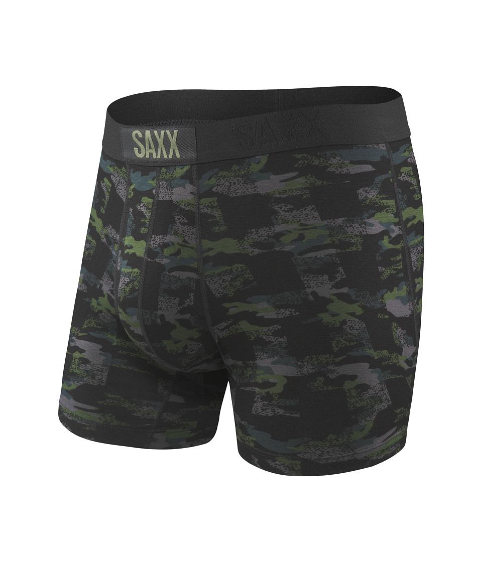 SAXX UNDERWEAR - Vibe Boxer Modern Fit (Lumberjack Camo) Men's Underwear
