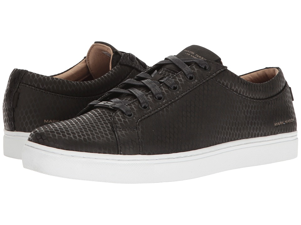 Mark Nason - Yaleton (Black Nubuck/White Bottom) Men's Shoes