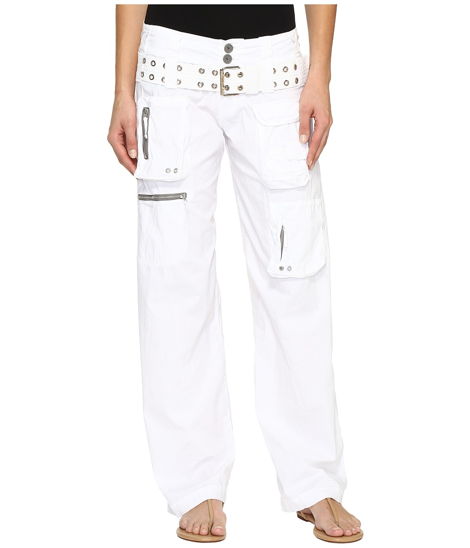 Johnny Was - Poplin Cargo Pants (White) Women's Casual Pants