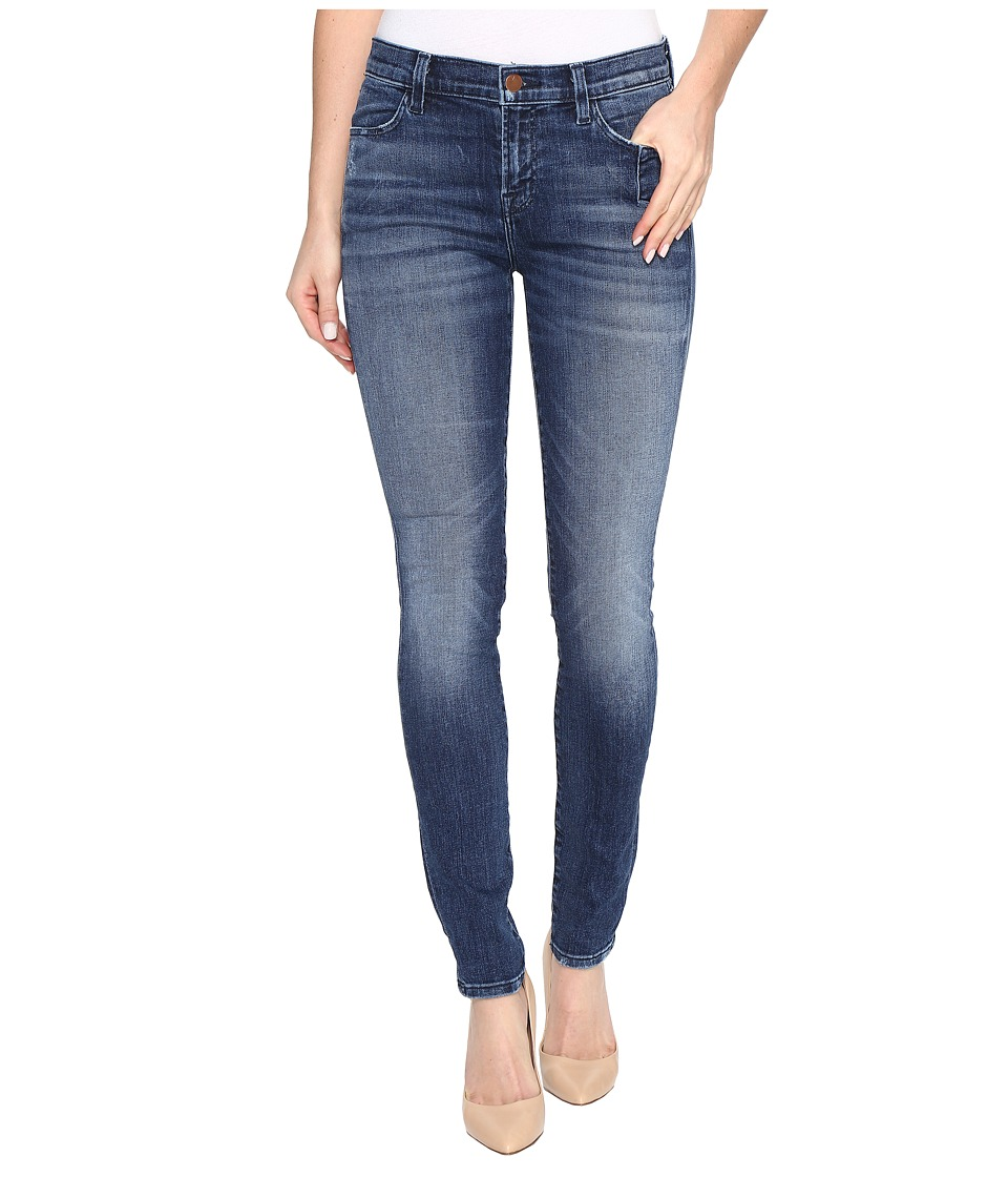 J Brand - 620 Mid-Rise Super Skinny in Gone (Gone) Women's Jeans