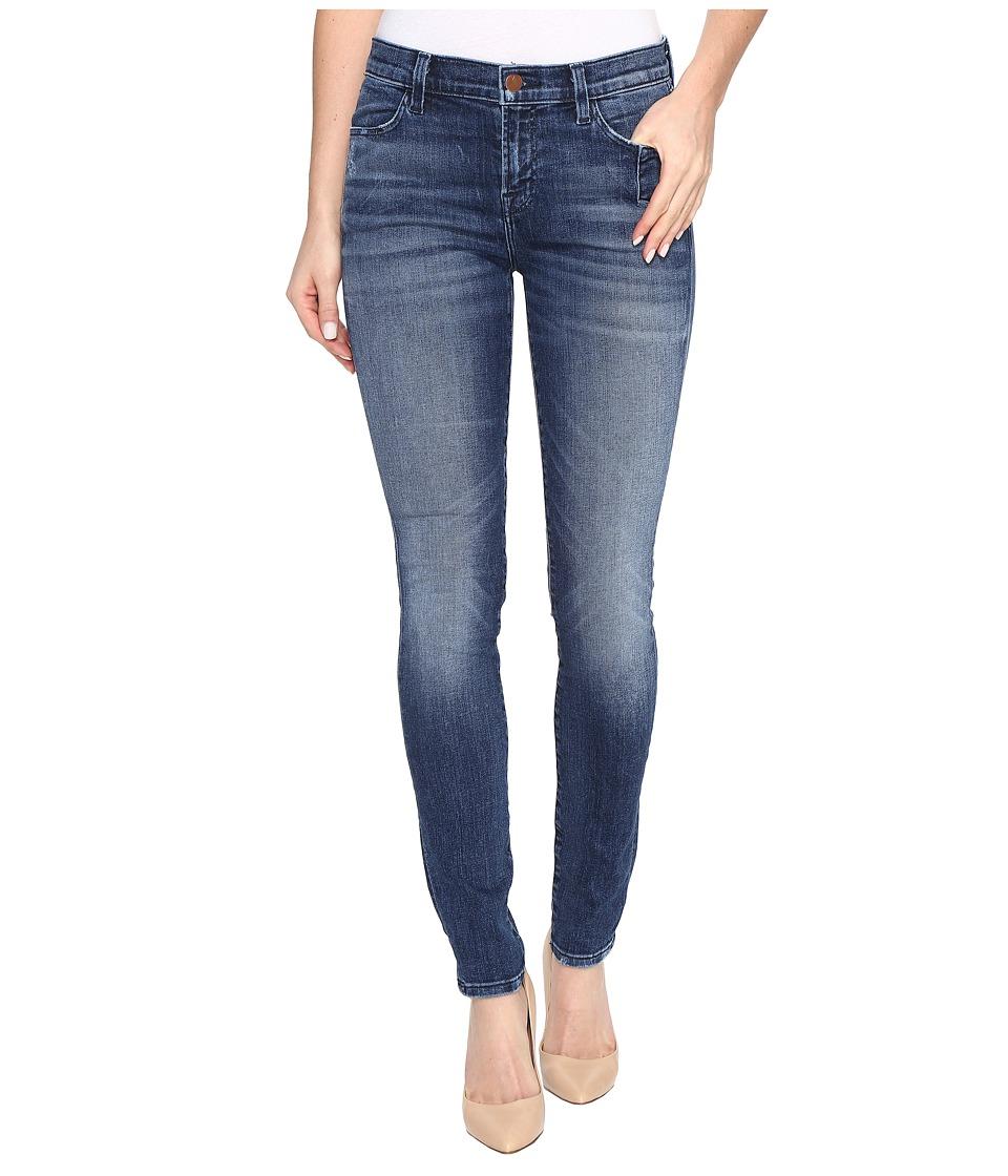 J Brand - 620 Mid-Rise Super Skinny in Gone (Gone) Women's Jeans