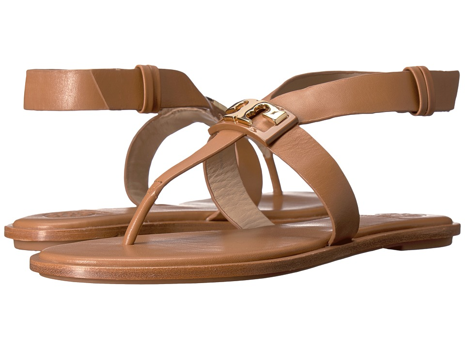 Tory Burch - Gigi Flat Sandal (Royal Tan) Women's Sandals