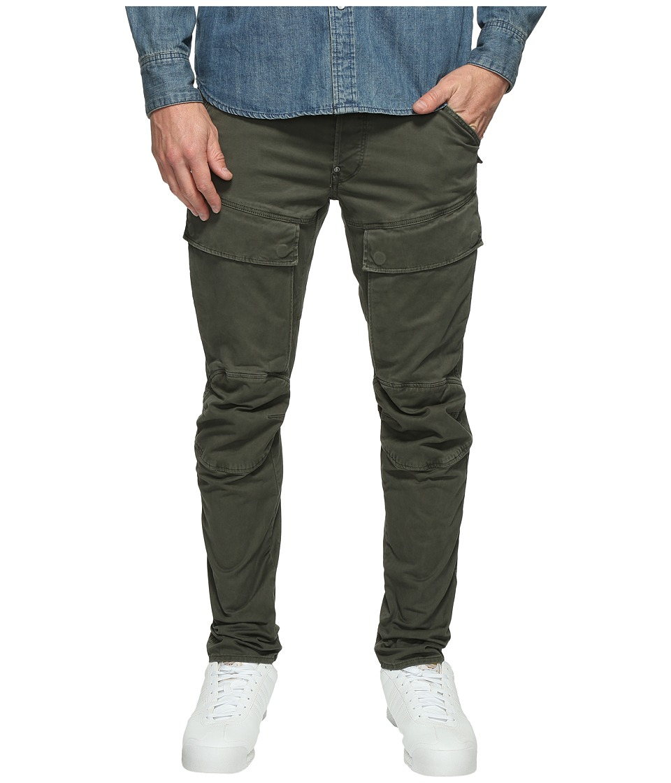 G-Star - Air Defence 5620 3D Slim (Dark Shamrock/Asfalt) Men's Casual Pants