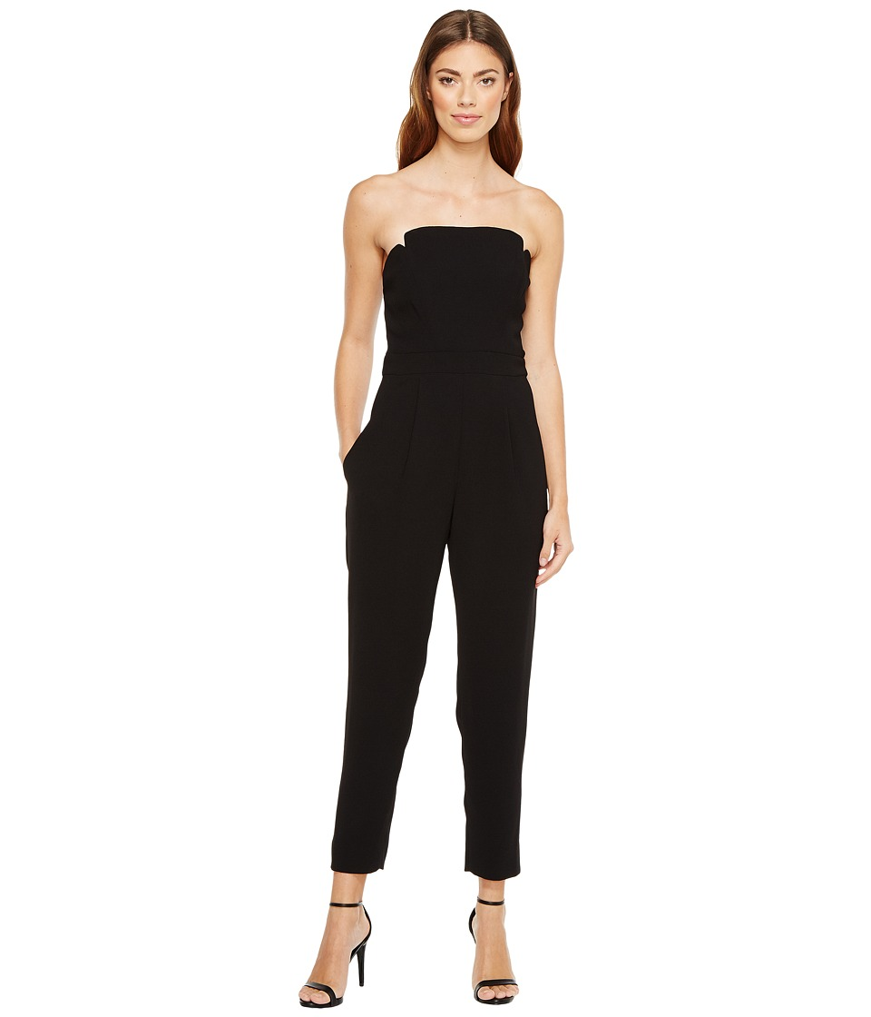 JILL JILL STUART - Harlow Strapless Jumpsuit (Black) Women's Jumpsuit & Rompers One Piece