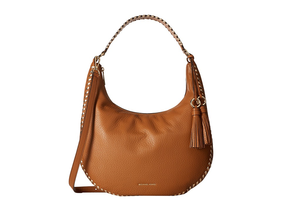 MICHAEL Michael Kors - Lauryn Large Shoulder (Acorn) Handbags