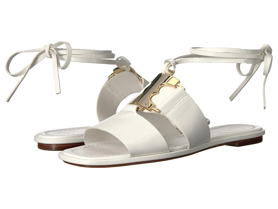 Tory Burch - Gemini Link Sandal (White) Women's Sandals