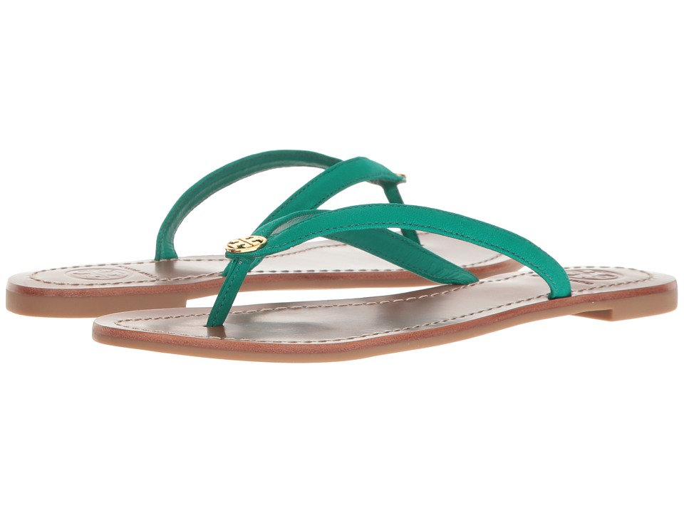 Tory Burch - Terra Thong (Bright Jungle) Women's Sandals