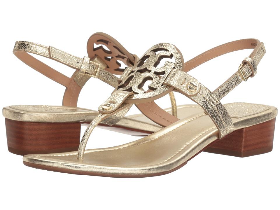 Tory Burch - Miller 30mm Sandal (Spark Gold) Women's Sandals