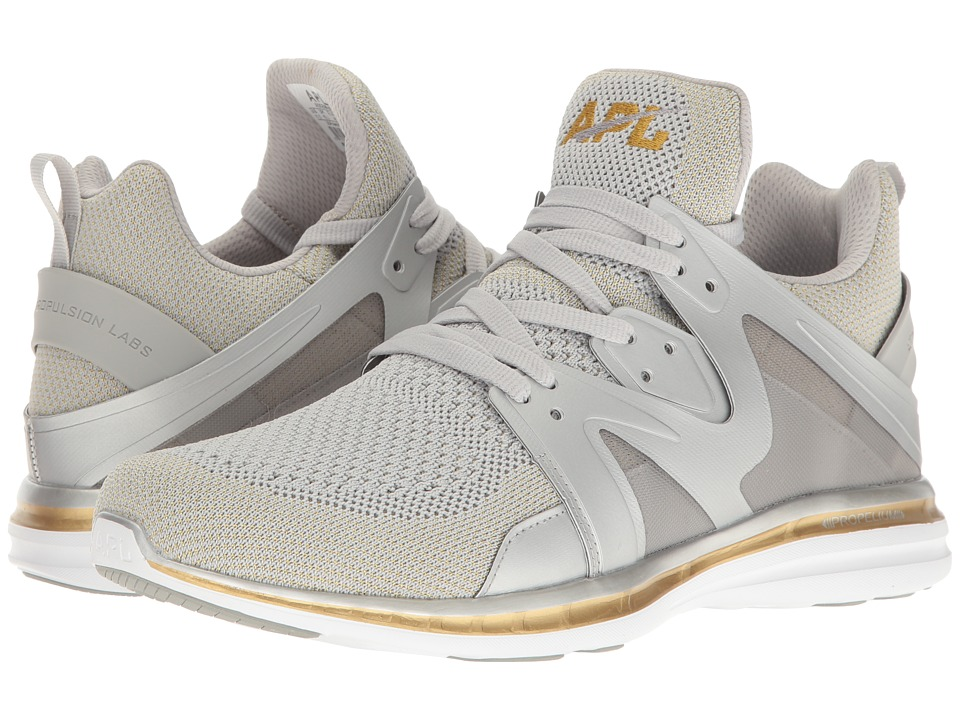 Athletic Propulsion Labs (APL) - Ascend Cosmic (Metallic Silver/Gold) Men's Shoes
