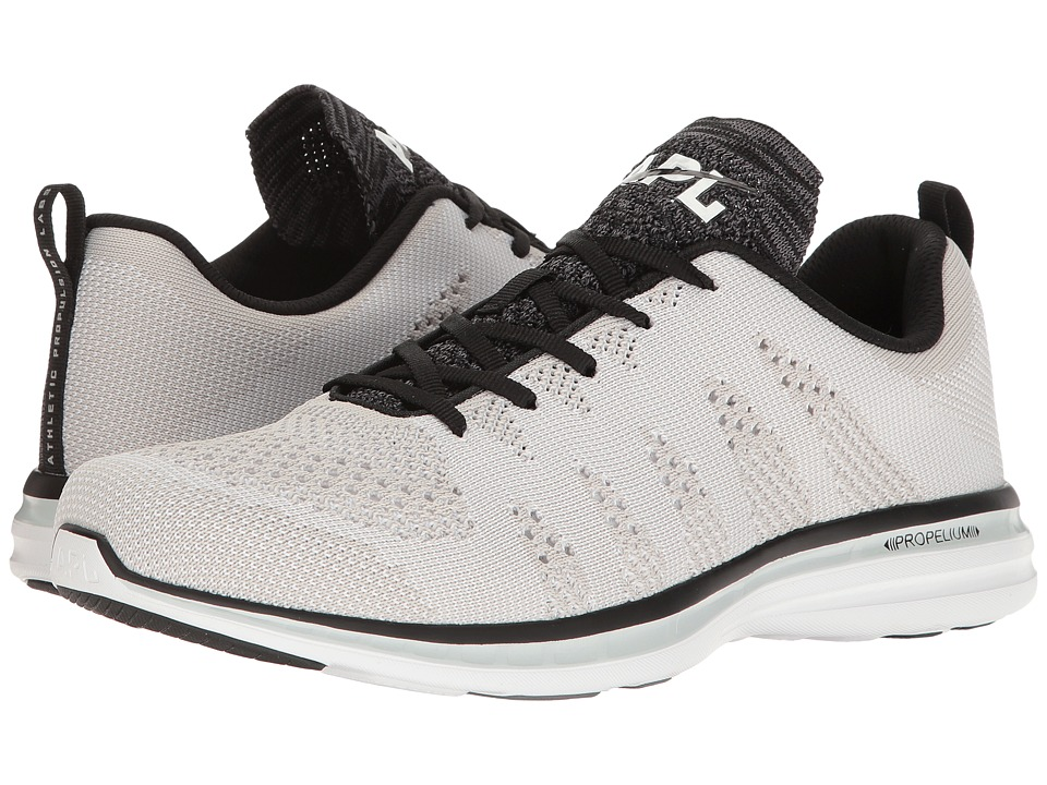 Athletic Propulsion Labs (APL) - Techloom Pro (White/Black/Cosmic Grey) Men's Shoes