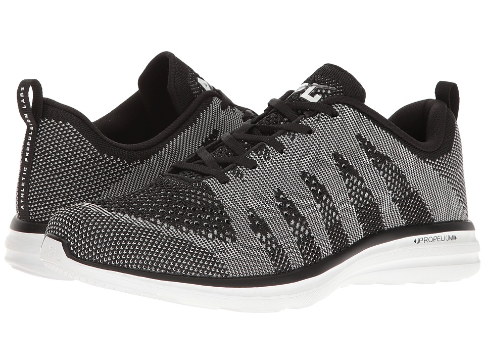 Athletic Propulsion Labs (APL) - Techloom Pro (Metallic Black/Metallic White) Men's Shoes
