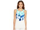 Calvin Klein Calvin Klein - Sleeveless Printed Halter Top